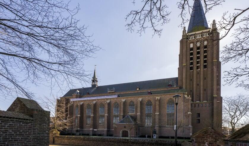 <p>De Grote Kerk in het centrum van Venray.</p>