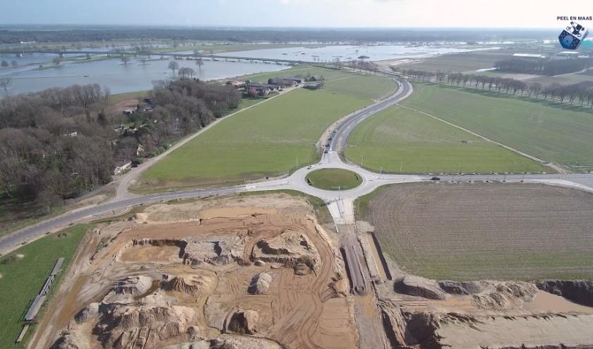 Werkzaamheden Ooijen-Wanssum in beeld.
