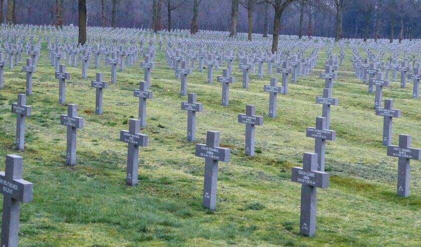 <p>De Duitse Militaire Begraafplaats in Ysselsteyn. </p>