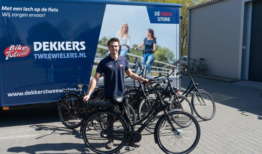 Dekkers Tweewielers leverde in korte tijd 700 fietsen aan OTTO Work Force.