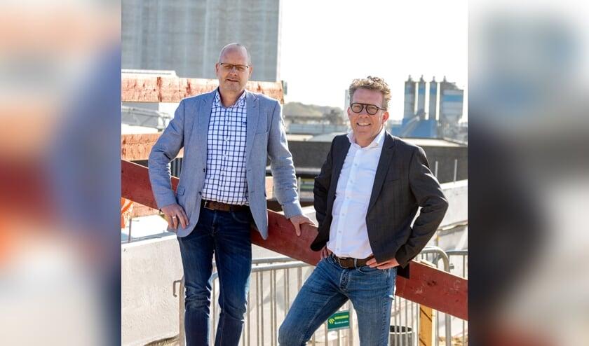 Stefan Kuijpers (links) en Herman Rutten, directie Vitelia, kijken met vertrouwen naar de toekomst.