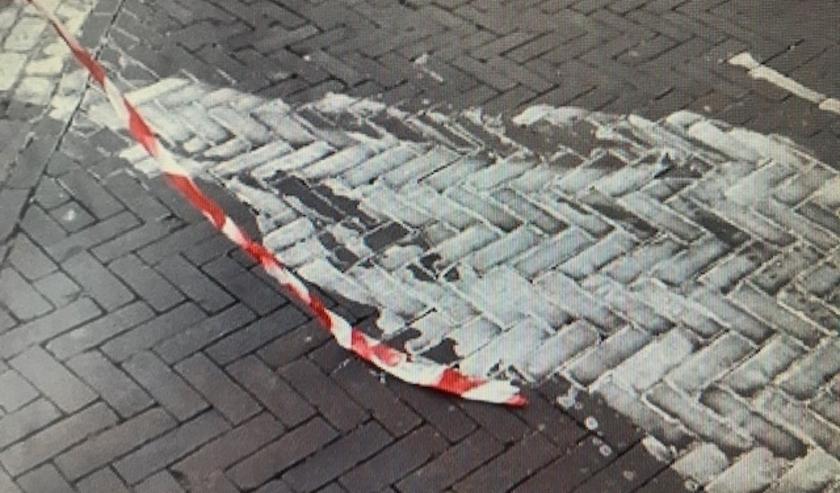 Illegale lozing op het Gouden Leeuwplein, politie zoekt getuigen.
