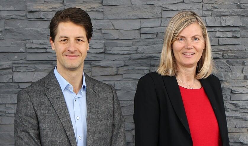 Olaf van Tol en Sandra Vogel.
