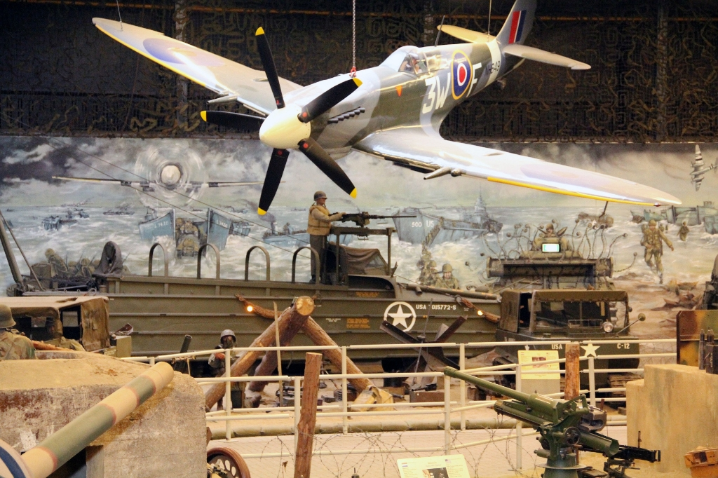 Een van de vele blikvangers in het museum.  Foto: Oorlogsmuseum Overloon © Peel en Maas Venray