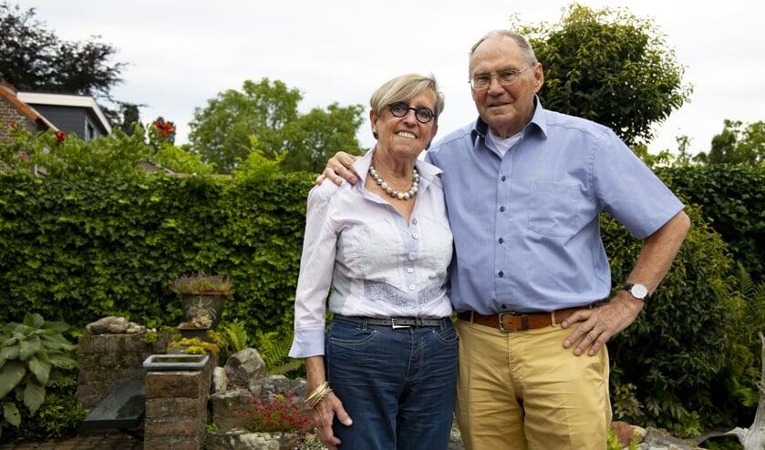 Mienke Halmans-Verbeten en Jan Halmans zijn op 5 augustus zestig jaar getrouwd.