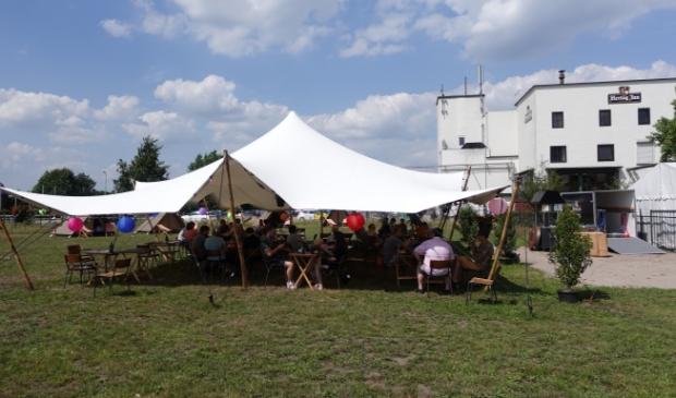 Pub-up camping bij de Hertog Jan brouwerij