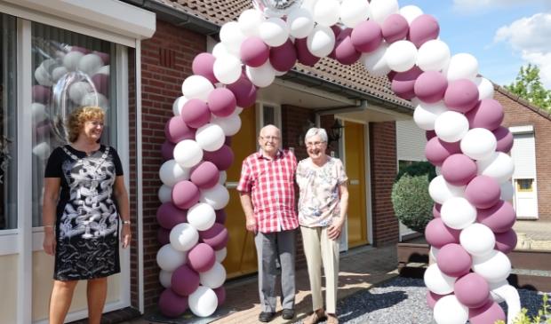 <p>Wiel en Truus Gooren 60 jaar getrouwd</p>