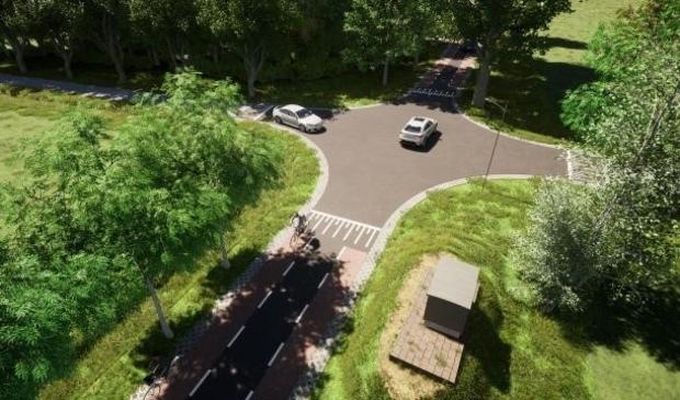Kruising Aijerdijk en Holshaeg wordt verhoogd