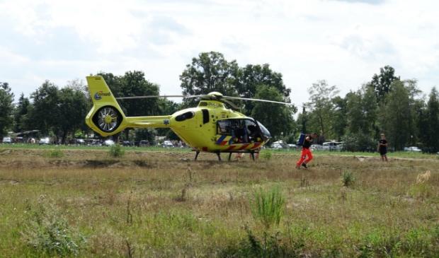 Hulpdiensten in actie Foto: Chris Smits © Maasduinencentraal