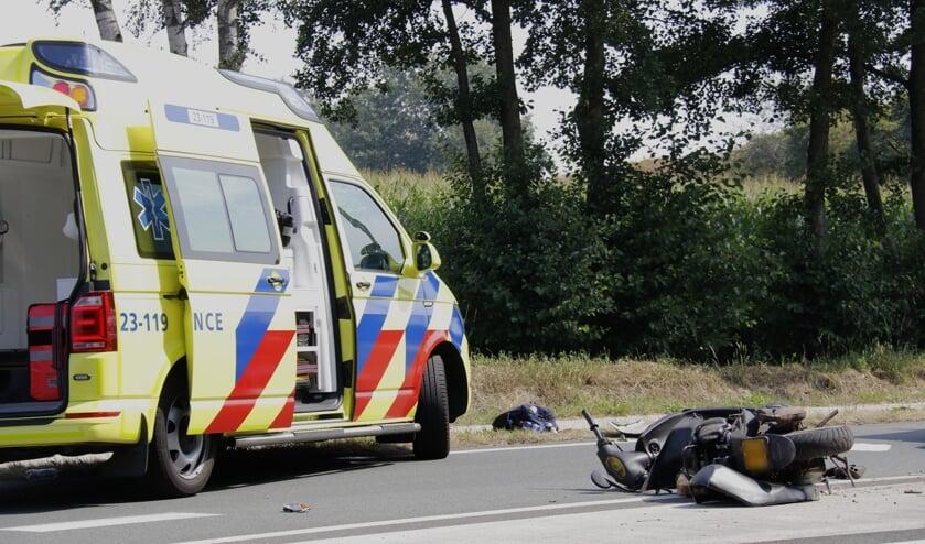 <p>Scooterrijder gewond bij eenzijdig ongeval in Ysselsteyn.&nbsp;</p>