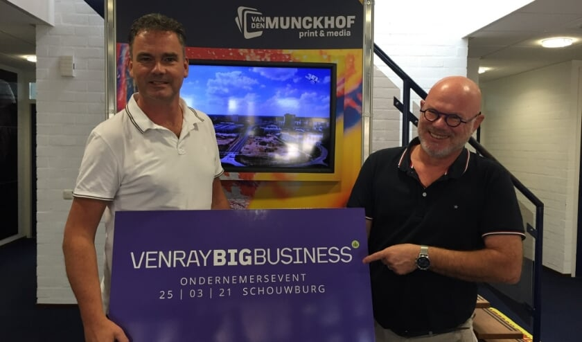 <p>Hoofdredacteur Ron Koenen (links) en directeur-eigenaar Christ van den Munckhof.<br><br><br><br></p>