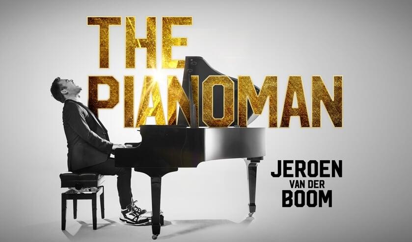 <p><strong>Jeroen van der Boom&nbsp;</strong> presenteert The Pianoman Solo.&nbsp;</p>