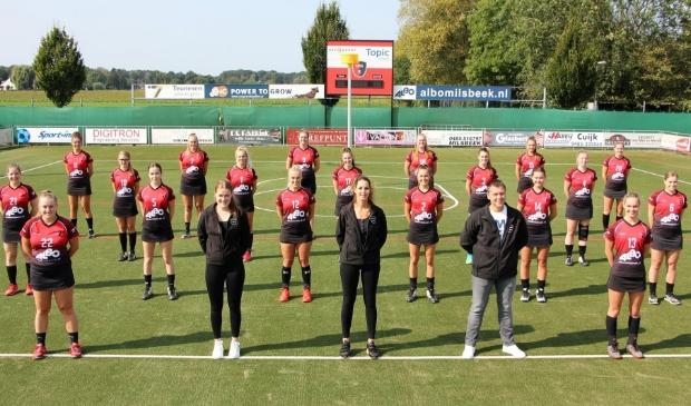 Spes start dit seizoen met nieuwe coach Saskia van Kerkhoff
