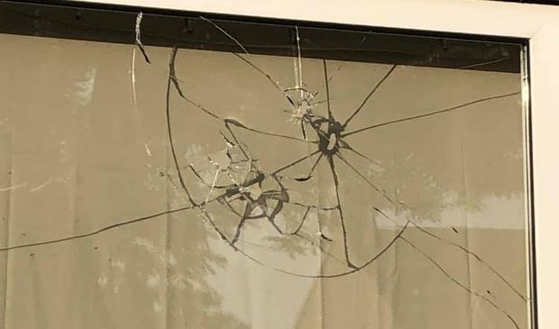 Vandalisme in Nieuw Bergen