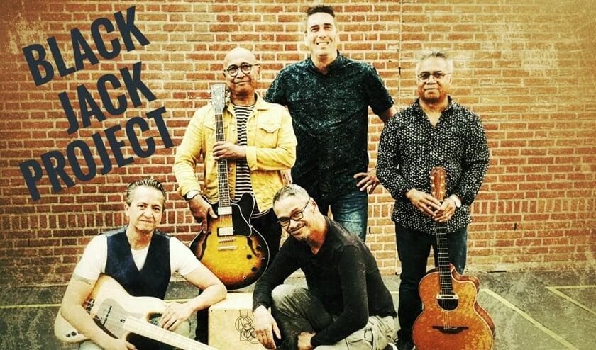 <p>The Black Jack Project treedt zondag 27 september op in &#39;t Stekske.&nbsp;</p>