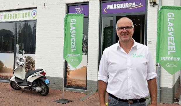 <p>Paul Kempen bij Servicepunt Maasduinen</p>