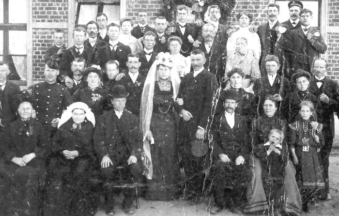 Huwelijk Janssen-Kersten 1911