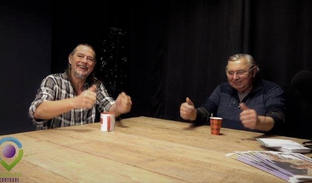 Toon en Fred in een korte aflevering van Watunweek