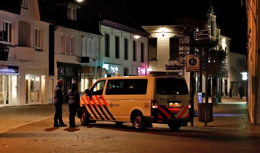 <p>Politie en boa&#39;s waren zaterdag prominent aanwezig in het centrum van Venray.</p>