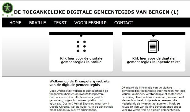 Geen boekje meer huis-aan-huis maar voortaan digitaal