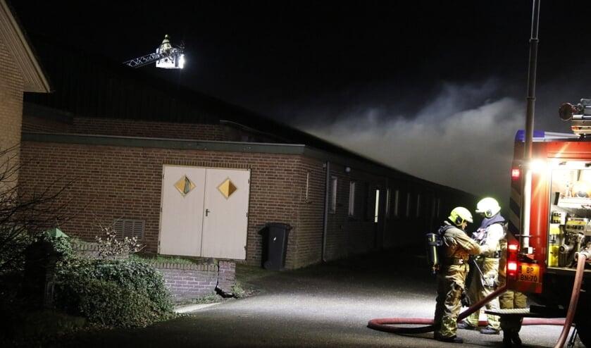 <p>De brandweer rukte woensdagmorgen uit voor een brand in een champignonloods in Ysselsteyn.&nbsp;</p>