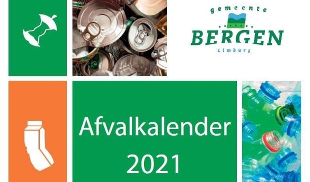 <p>De afvalkalender werd met de Maasduinen Courant huis-aan-huis bezorgd</p>