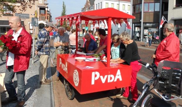 PvdA Gennep in actie
