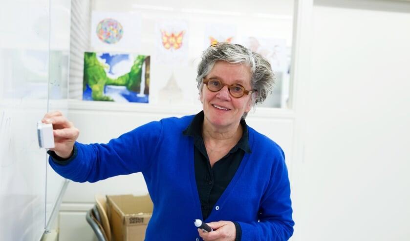 <p>Hetty van der Westerlaken, docent Stevensbeek: &quot;Ik houd beter zicht op wat leerlingen leren als ik vaker per week online lesgeef.&quot;</p>