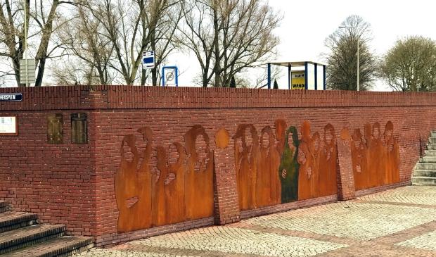 <p>Het indrukwekkende Holocaustmonument ontworpen door Mirso Bajramovic</p>
