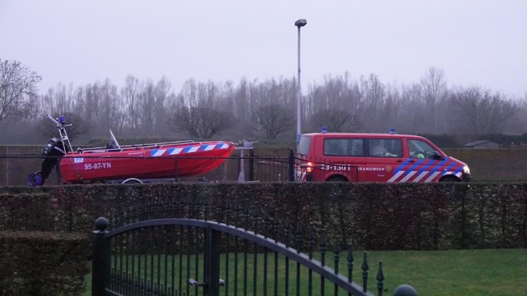 Brandweer inzet bij de Maas Foto: Chris Smits © Maasduinencentraal