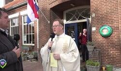 Installatie van pastoor Rick Blom