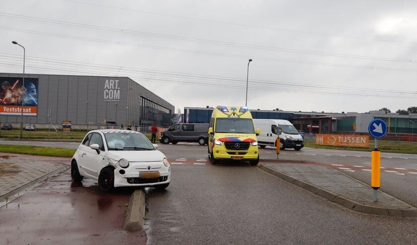 <p>Ongeval op kruising aan De Voorde in Oostrum.&nbsp;</p>