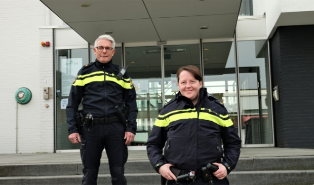 Wijkagenten van de gemeente Bergen, Frans Coumans en Anne van Wanroij