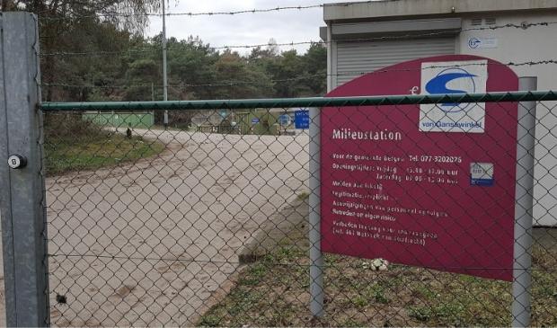 Milieupark Heukelom aanstaand weekend gesloten