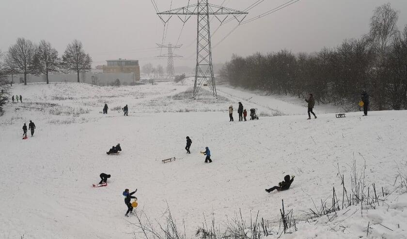 <p>Volop sneeuwpret in Venray.&nbsp;</p>