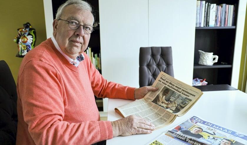 <p>Jos Waals gaf in maart 2020 nog een interview af voor nieuwsblad Peel en Maas.</p>