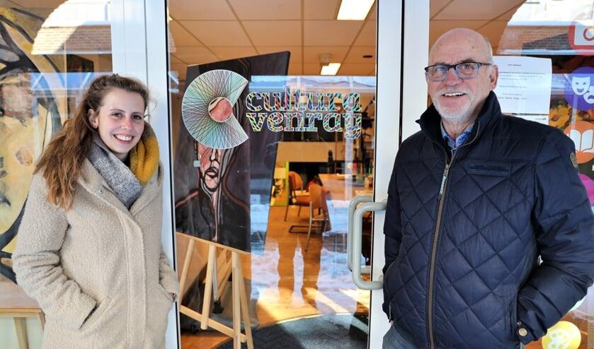 <p>Marloes Kempkens en Gerrit Hendriks: Merselo in beeld.</p>