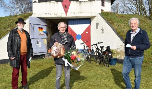 De 80-jarige Harry Kaak blijft de Gerardamolen in Heijen trouw