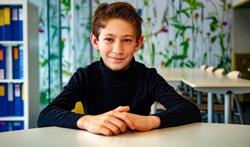 <p>Tom Smetsers uit Venray kan komende week eindelijk weer naar school.</p>