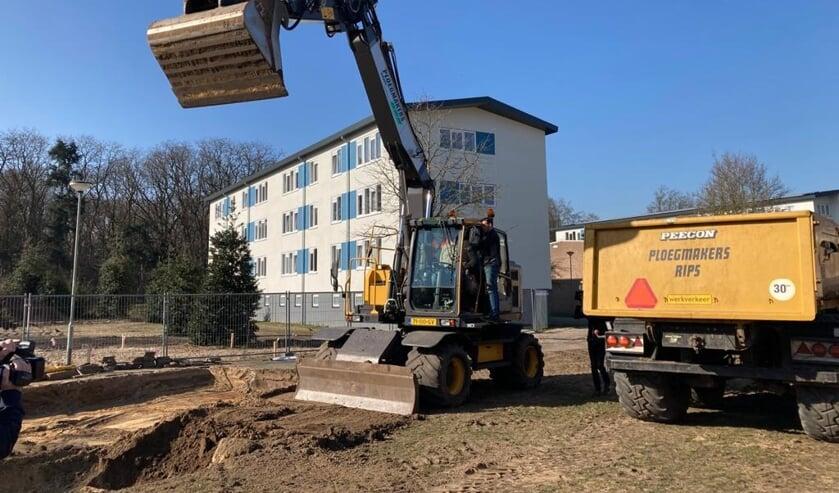 <p>De nieuwbouw is gestart voor het woonhofje aan de Kemp in Venray.&nbsp;</p>
