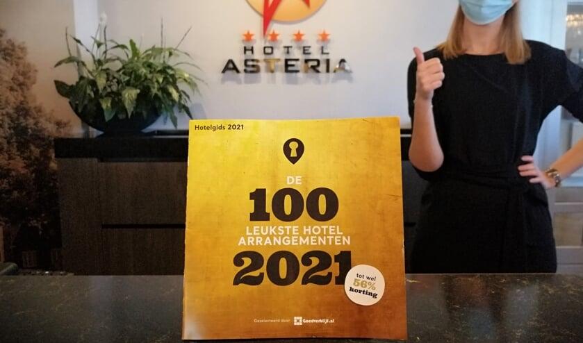 <p>Hotel Asteria: beste hotel van Limburg, tweede van Nederland.&nbsp;</p>