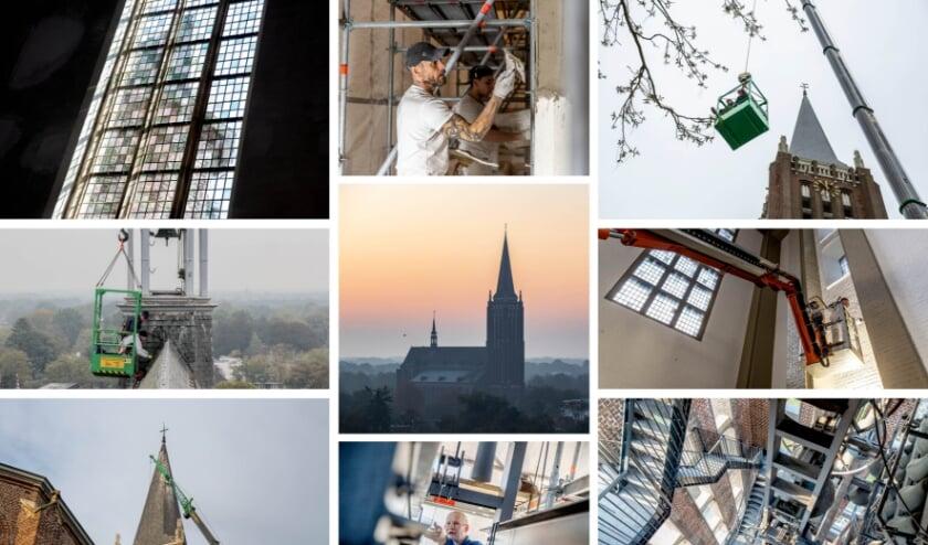 <p>Een collage van de werkzaamheden.&nbsp;</p>