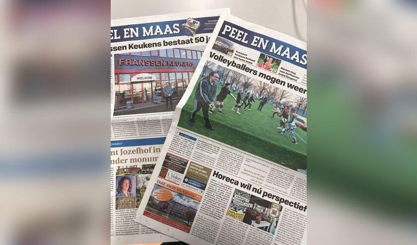 <p>Peel en Maas wordt deze week bij onze abonnees in Veulen per post bezorgd.&nbsp;</p>
