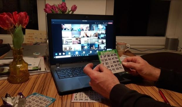 <p>Digitale &#39;Grote mensen&#39; bingo tijdens corona</p>