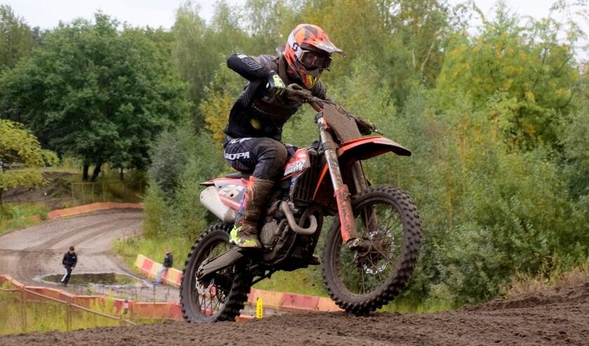 <p>Joey van der Zanden werd in 2020 kampioen in de klasse MX2 senioren.</p>