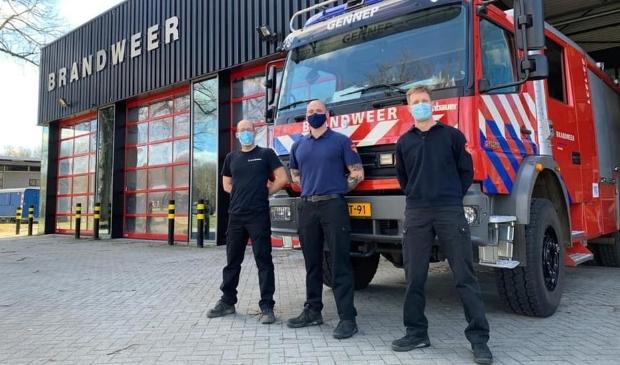 <p>Drie extra manschappen voor de Gennepse brandweer</p>