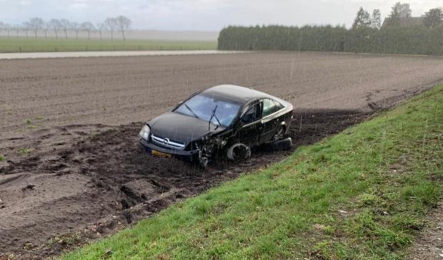 <p>eenzijdig ongeluk in Well</p>