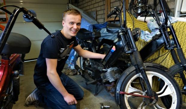 <p>Daan Gramser maakt van zijn passie een onderneming</p>