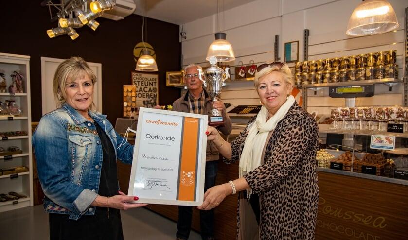 <p>Rousseau winnaar etalagewedstrijd Koningsdag.</p>