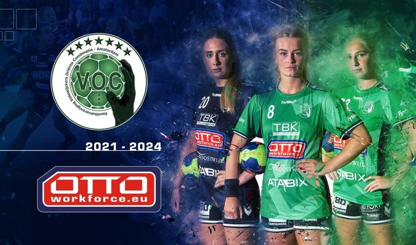 <p>OTTO Work Force heeft de sponsorovereenkomst met handbalclub VOC Amsterdam verlengd.&nbsp;</p>